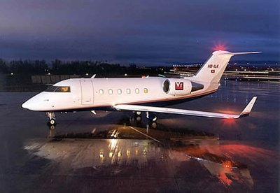 Traveling to (unassigned) via Jet Charter